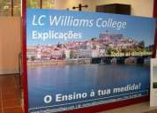 Lc williams college - explicações, todas as disiplinas