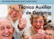 Técnico auxiliar de geriatria