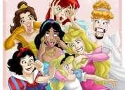 Animação infantil - festa das princesas e princepes - mês de abril