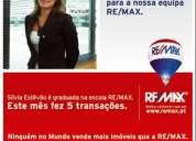 Remax antas - recruta 5 agentes imobiliários