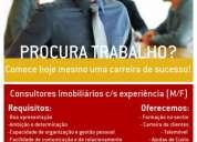 Consultores imobiliários c/s experiência (m/f)