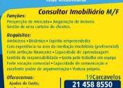 Consultor imobiliário m/f