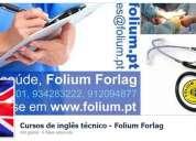 Inglês técnico saúde da folium forlag