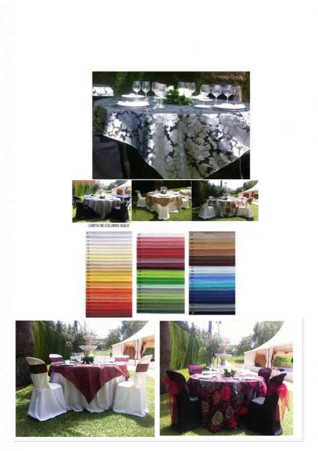 Toalhas de Mesa para catering, casamentos, festa no jardim