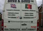 Transportes portugal & inglaterra