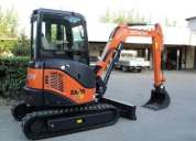 Grandes mini-escavadoras 7t hitachi zx33u