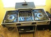 2x pioneer cdj-350 turntable + djm-350 mixer