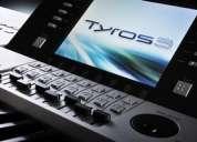 Tyros5 61-key arranger workstation keyboard